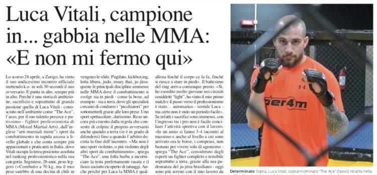 Il nostro super Luca Vitali, che campione!